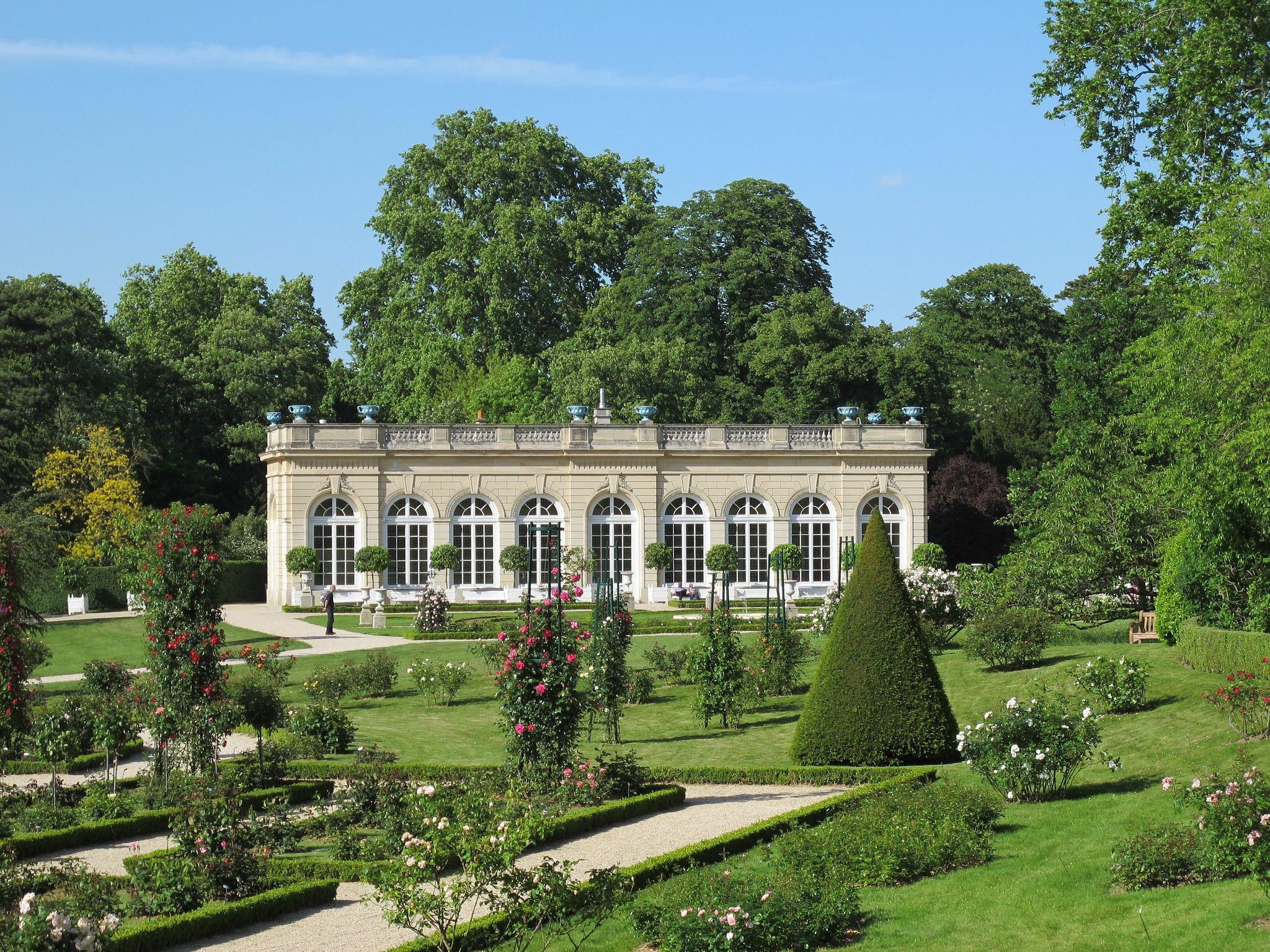 L Orangerie Jardin De Bagatelle Bois De Boulogne Paris Bois