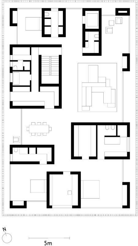 1ninetreevilladraw vivienda pinterest - Architektur plan ...