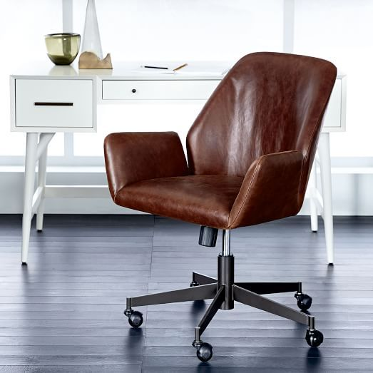 Awe Inspiring Aluna Leather Office Chair 479 Less 20 Is 383 20 Gmtry Best Dining Table And Chair Ideas Images Gmtryco