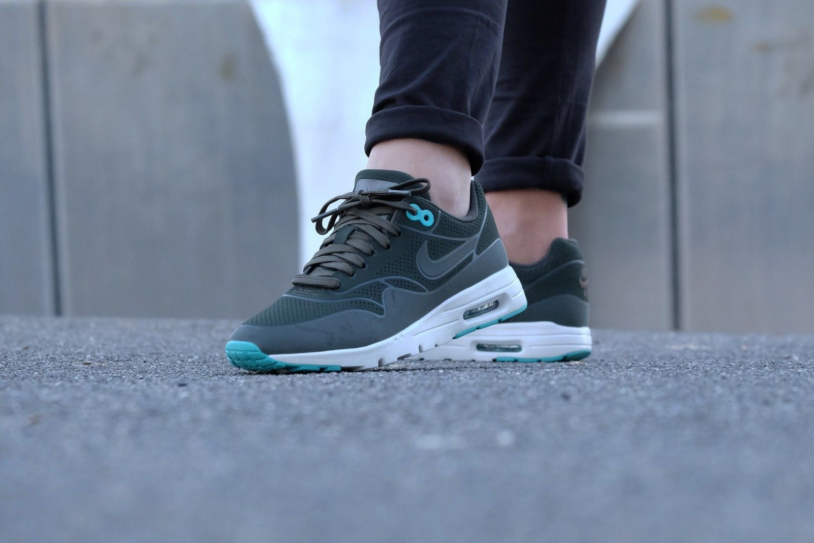 Nike Air Max 1 Ultra Moire Sequoia-Washed Teal - 704995-304 ...