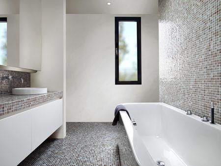 badkamer mozaiek tegels - Google zoeken | Badkamer | Pinterest ...