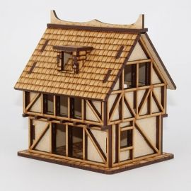 Large House mdf laser cut 28mm model terrain kit for tabletop gaming