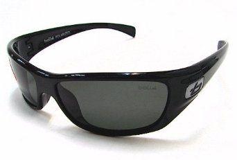 cc769dc3e7e Bolle 11227 Copperhead Sunglasses Shiny Black Polarized Shades Bolle.   59.95 Sunglasses Accessories