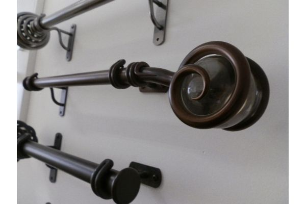 10+ images about Wrought Iron and Steel Curtain poles on Pinterest ...