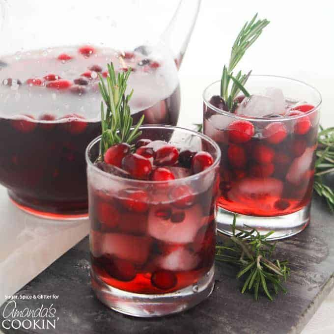 Cranberry Holiday Punch Is Perfect For Your Festive