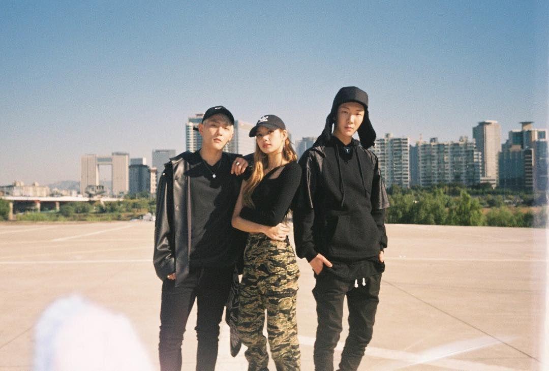 Lisa Instagram Update With iKON's DK & WINNER's Hoony i 2019