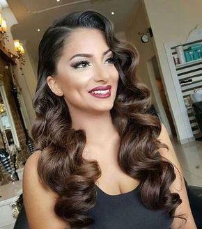 Peinados de novia 2018 cabello largo