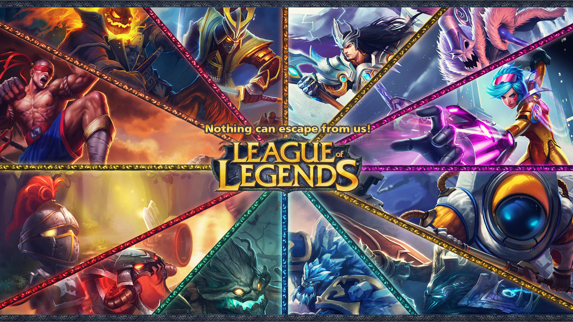 League Of Legends Jungle Wallpaper League Of Legends Poster