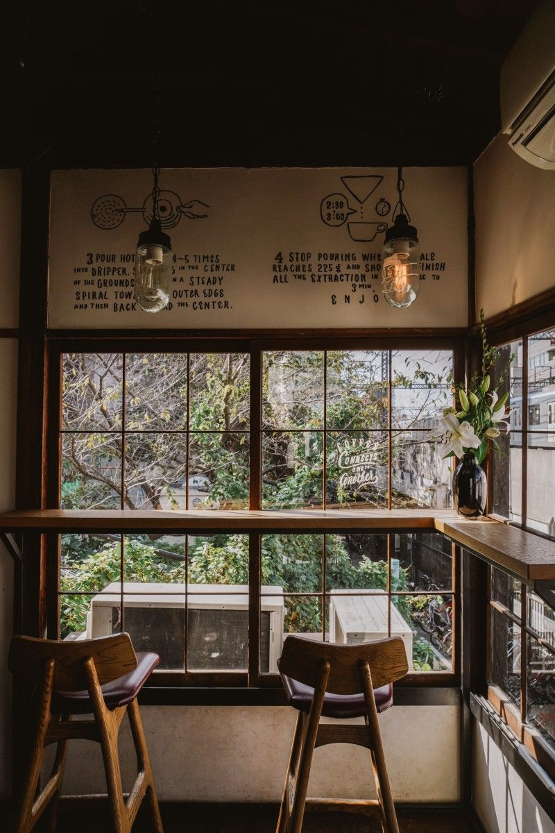 A Guide To The Coolest Coffee Shops In Tokyo Japan Bon Traveler In 2020 Coffee Shop Decor Cozy Coffee Shop Japanese Coffee Shop