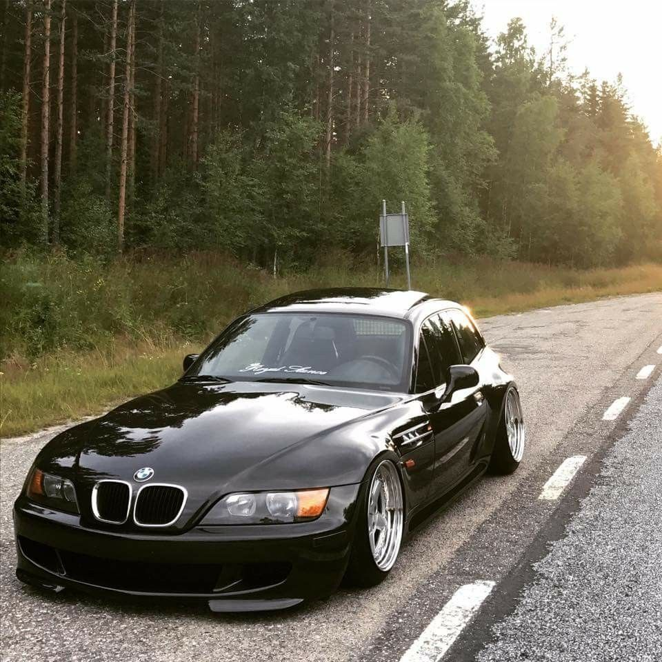 Bmw Z4 Convertible Black: BMW Z3 M Coupe Black Slammed