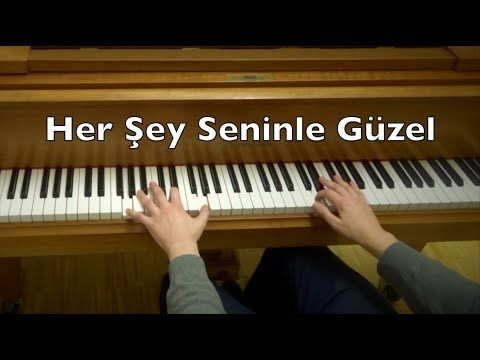 Her Sey Seninle Guzel Piano Tutorial Everything Is Beautiful With You Zerrin Ozer Youtube In 2021 Piano Tutorials Piano Piano Cover