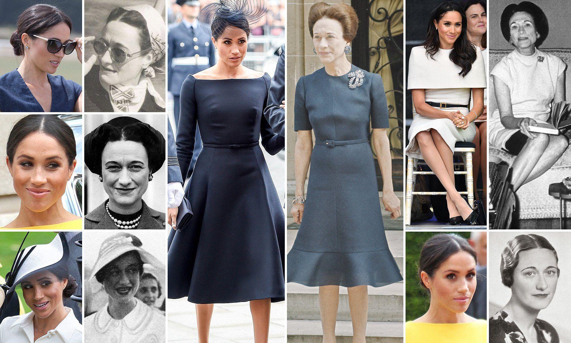 Wallis simpson wedding dress  Meghan Markle and Wallis Simpson divorced Americans who found prince