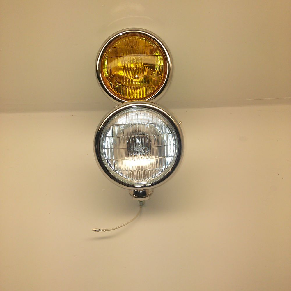 Details About 6 Quot Vintage Motorcycle Headlight Head Lamp