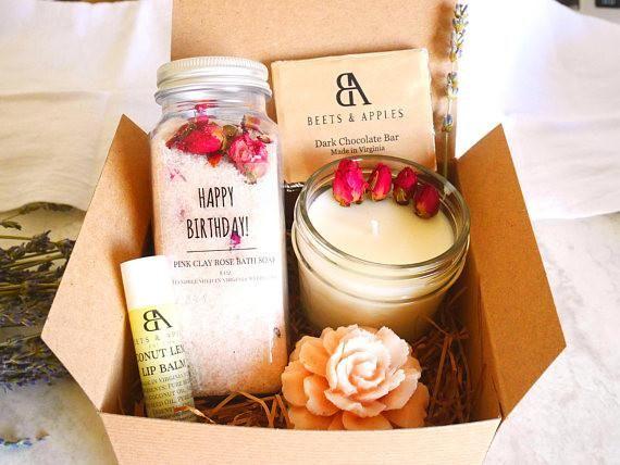 Handmade Spa Birthday Gift Basket Virginia Box Happy