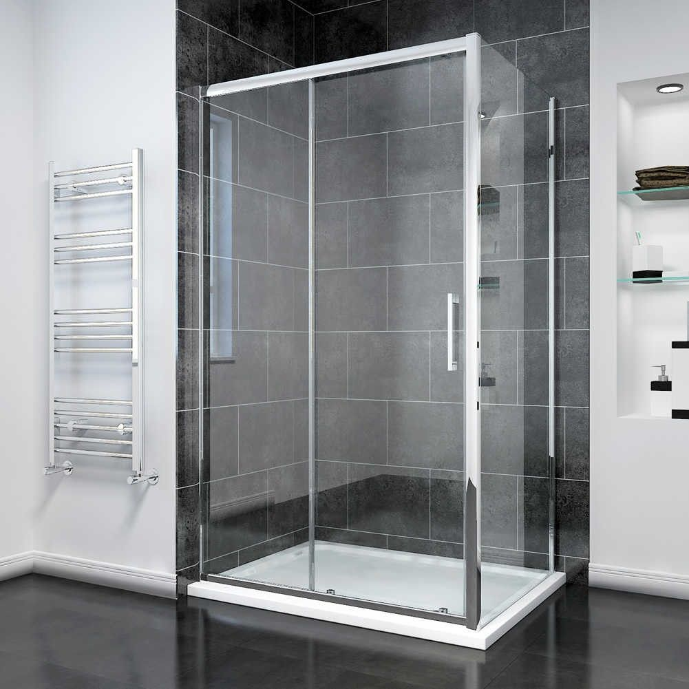 Elegant Screen Cubicle 8mm Easy Clean Sliding Shower Doors