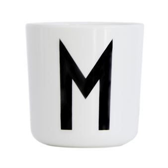 Design Letters Melaminbecher - M - Design Letters