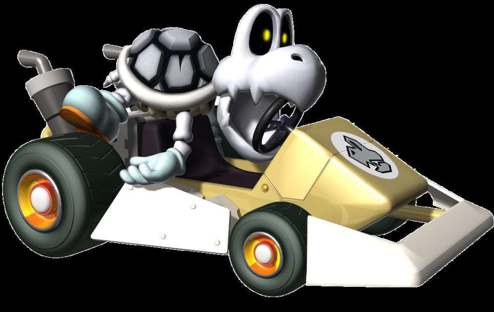 Mario Kart Ds Mario Kart Mario Kart Ds Dry Bones Mario