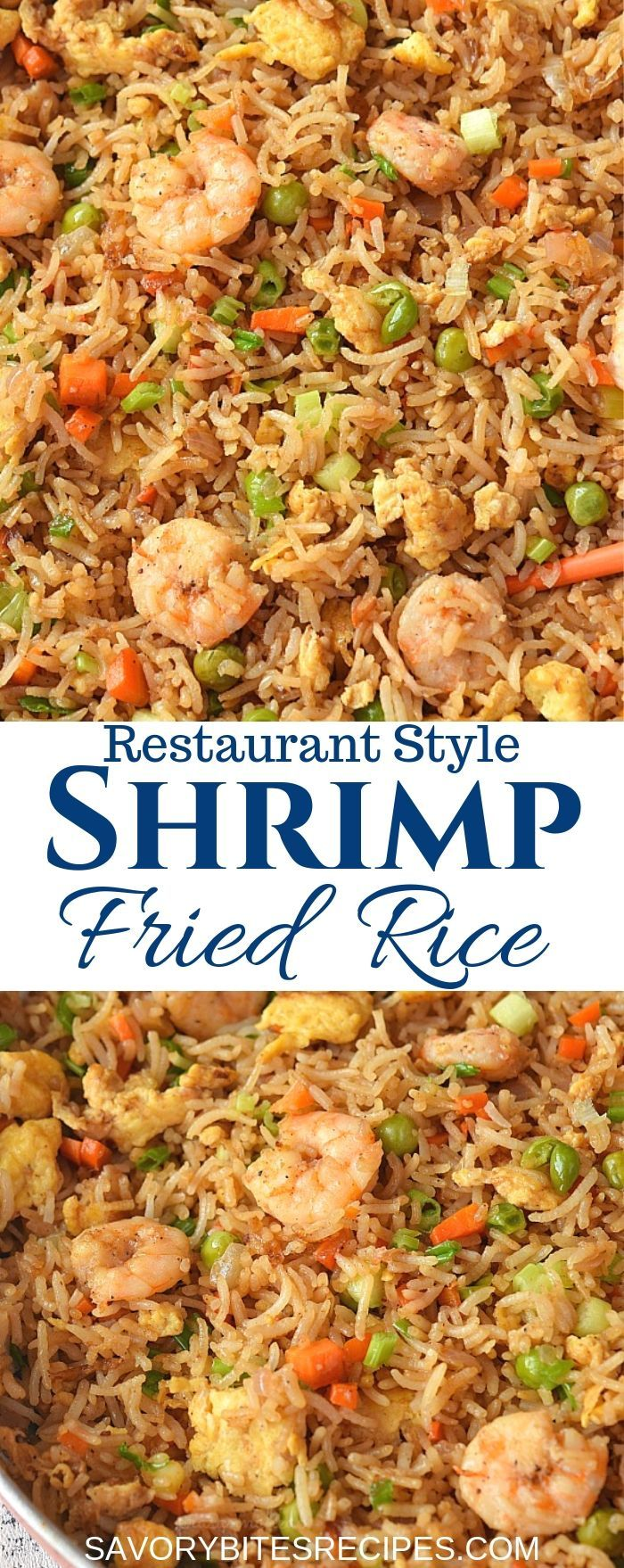 Under 30 mins-better than takeout - shrimp fried rice!