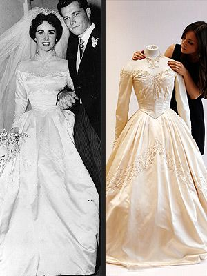 Anna wintour tweet emma watson shoes elizabeth taylor s for Elizabeth taylor s wedding dresses