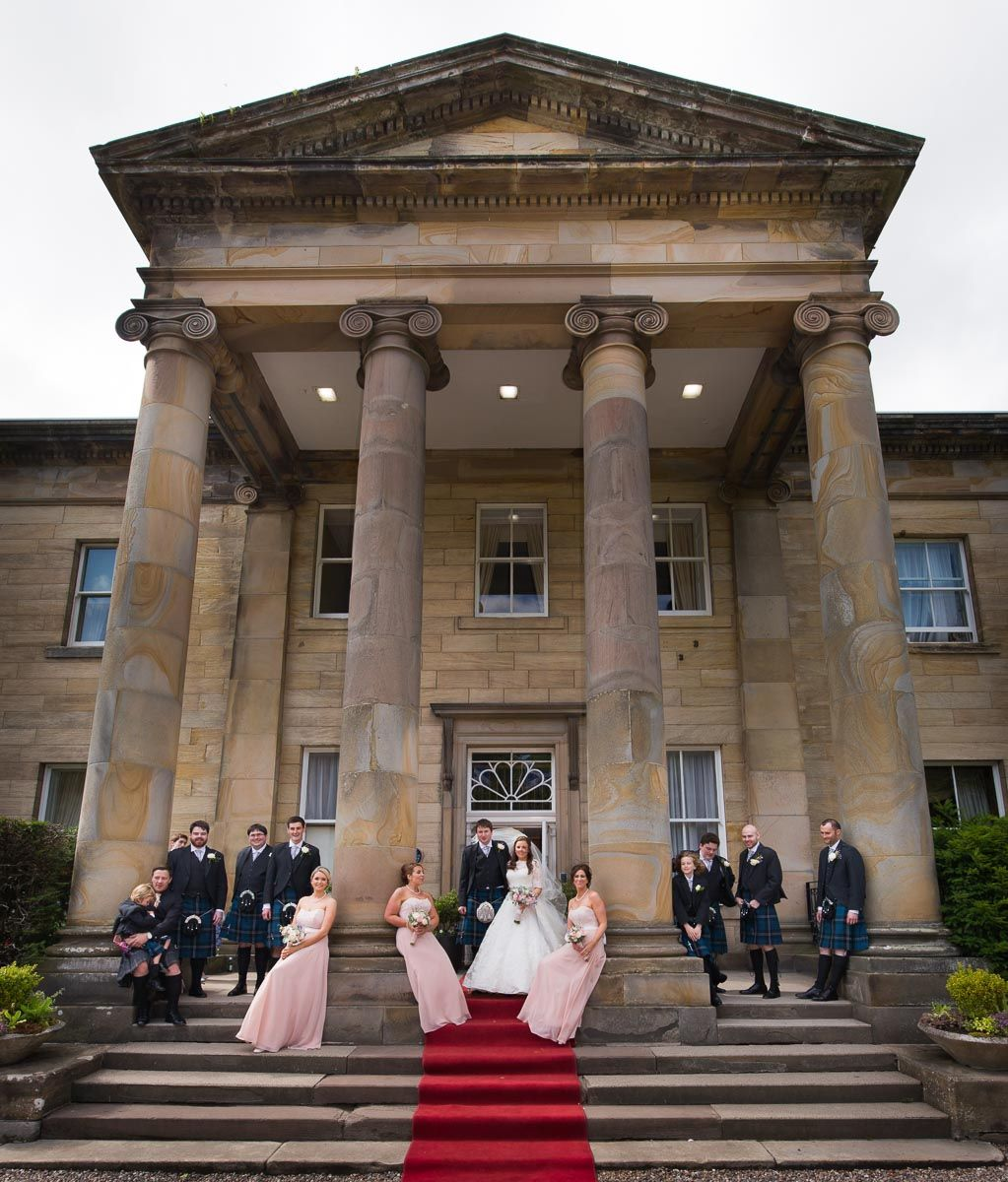 Lovely Church Wedding At Balbrinie House St Marys Edinburgh Scotland