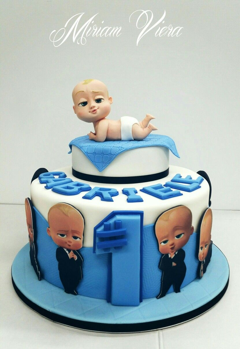 Tremendous Baby Boss Cake Baby Birthday Cakes Boss Baby Baby First Funny Birthday Cards Online Fluifree Goldxyz