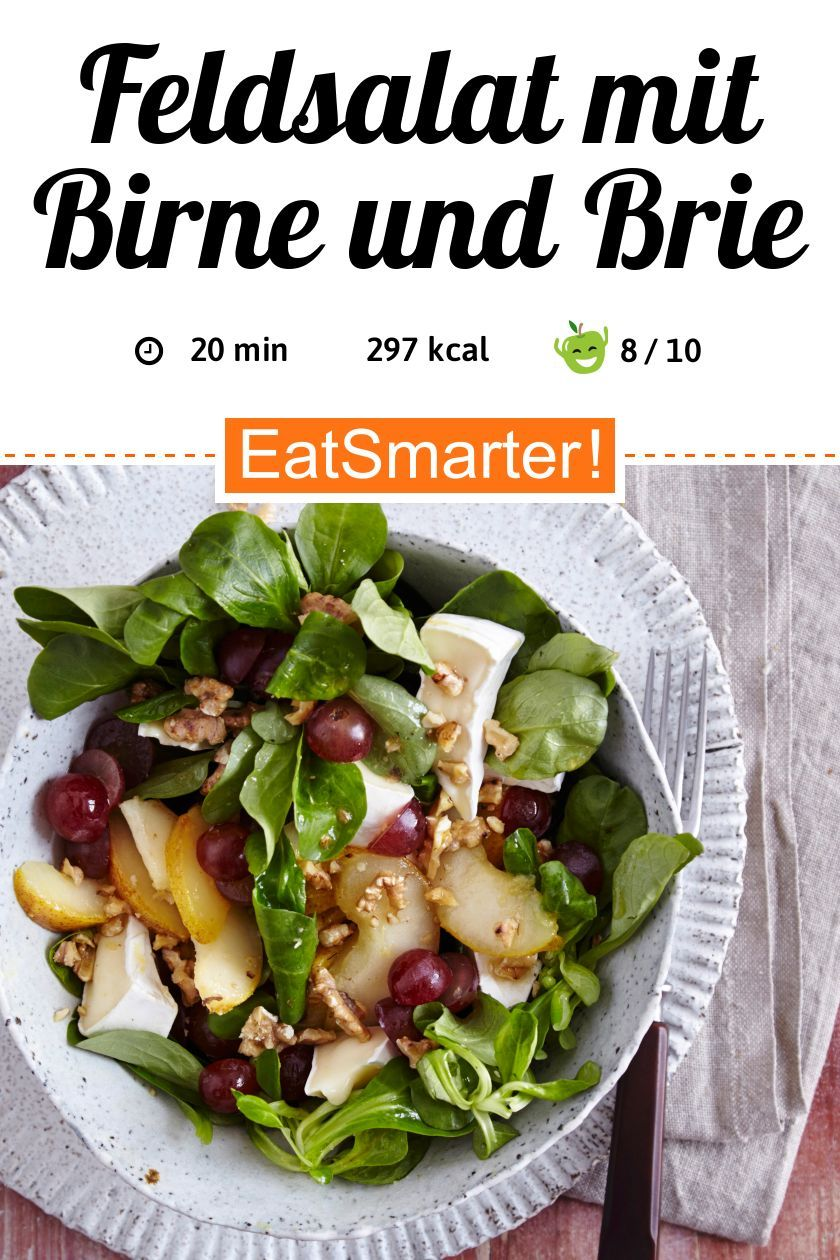 Photo of Corn salad with pear and brie