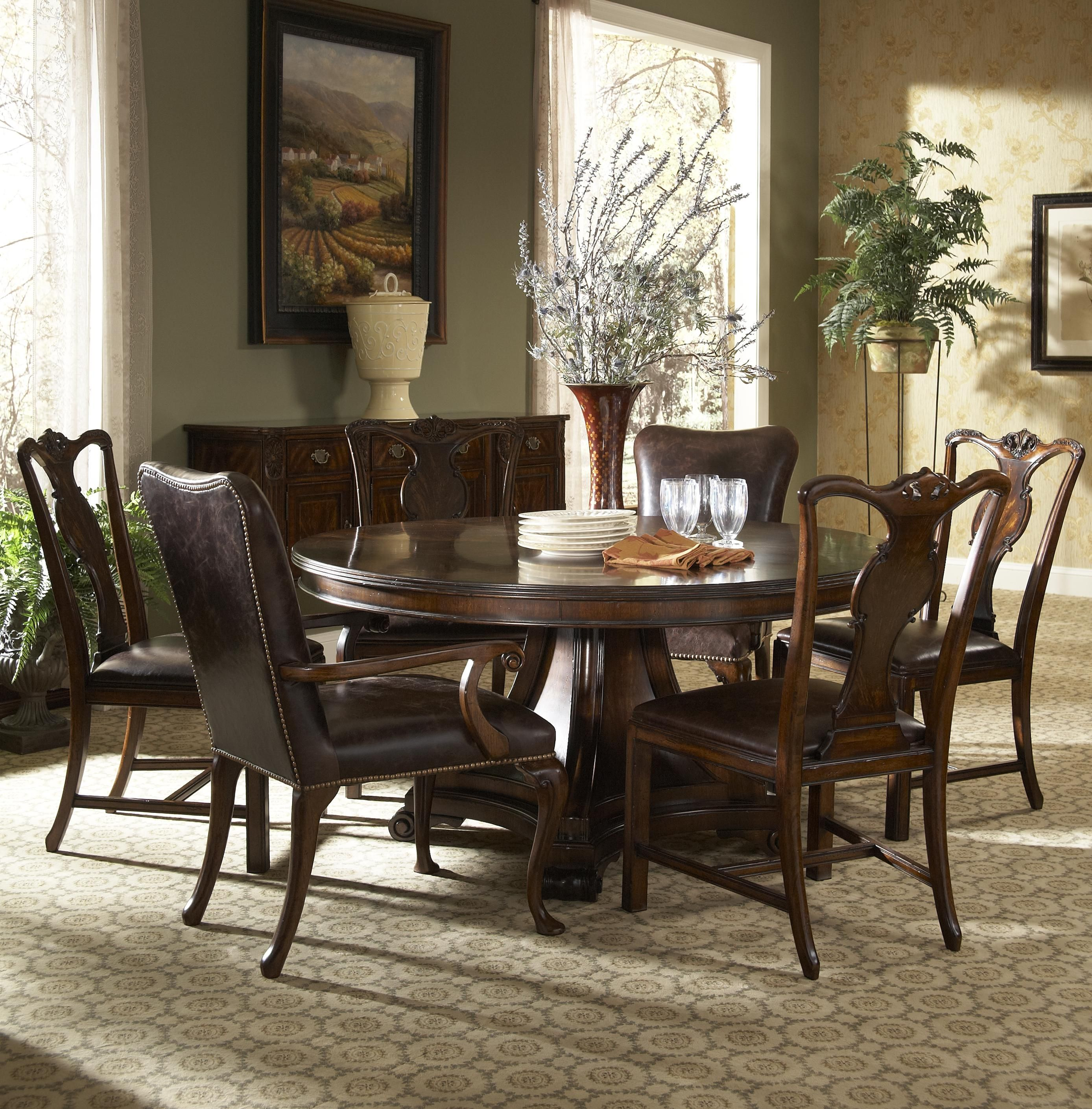 Dining Sets Traditional Round Kitchen Table