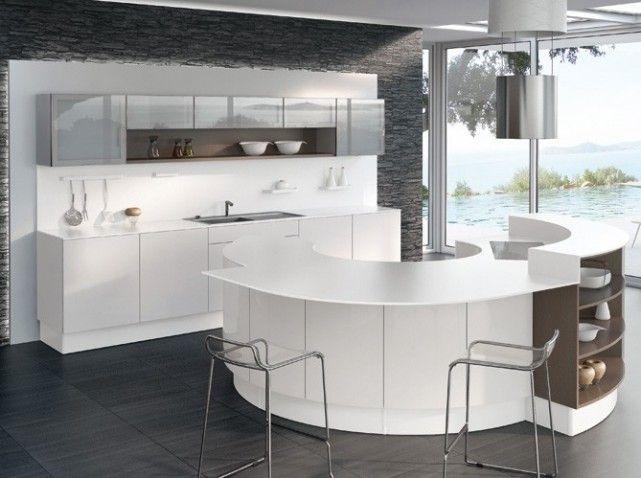 perene cuisine equinoxe blanc ilot cuisine pinterest ilot maisondeco et ouvert. Black Bedroom Furniture Sets. Home Design Ideas