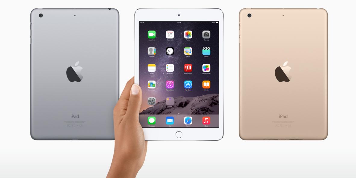 Rumor: Thinner iPad mini 4 will resemble iPad Air 2 hardware