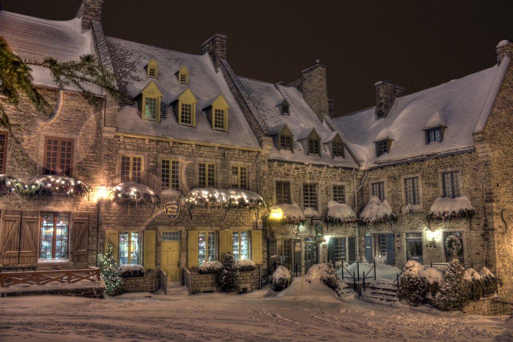 La maison Dumont-Le Picart & La maison Bruneau-Rageot-Drapeau