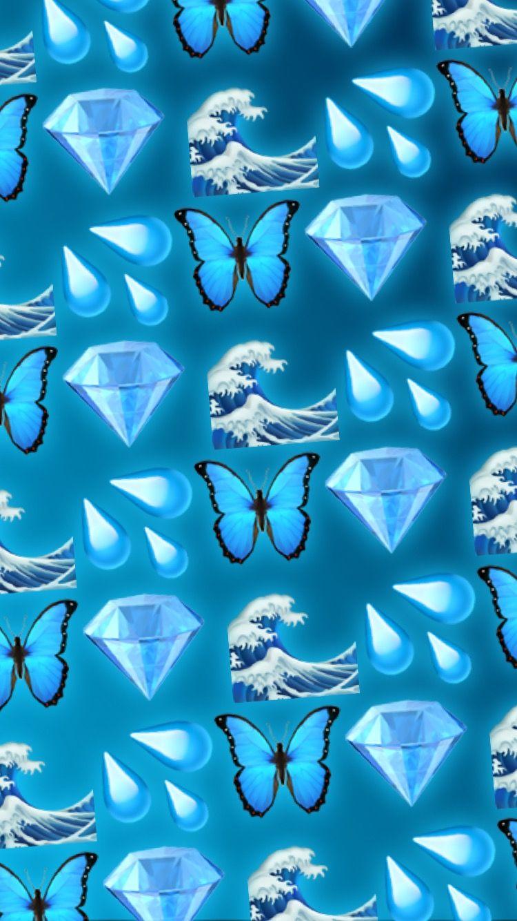 Blue Wallpaper Emoji Emoji Wallpaper Iphone Emoji Wallpaper Blue Emoji Emoji wallpaper hd blue