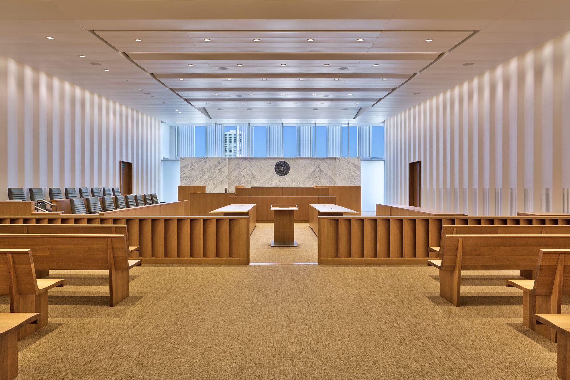 La Som Courtroom Court Jpg 2000 1333 Supreme Court Building Courthouse Workspace Inspiration