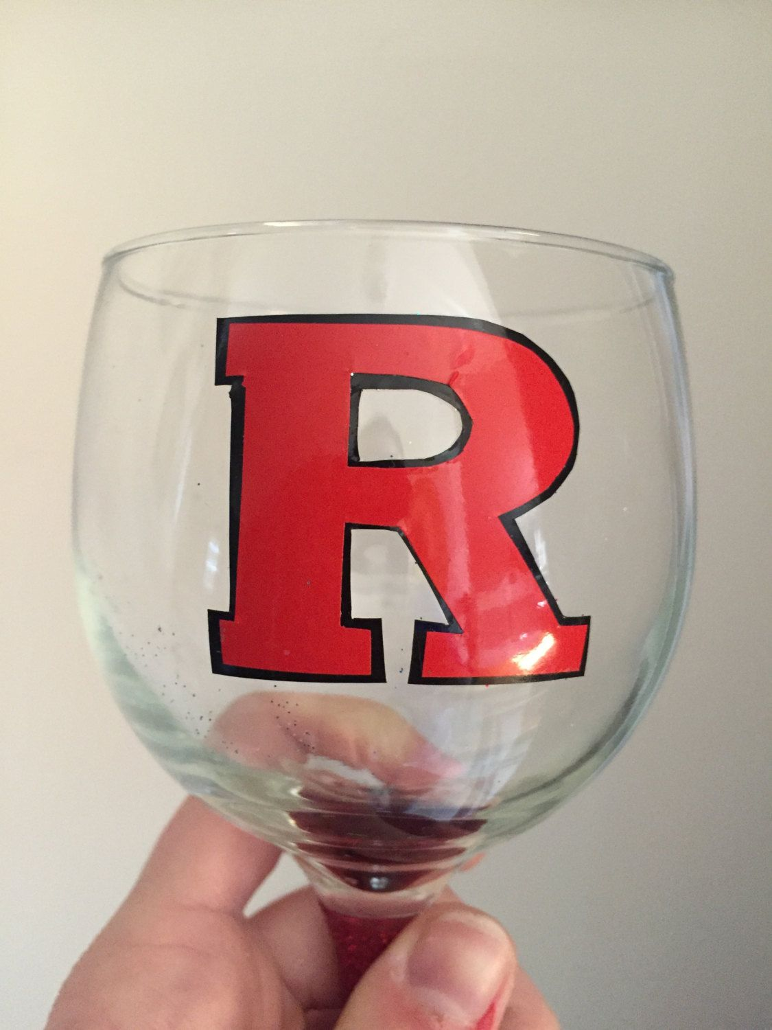 College Decal College Decals Etsy Stemless Wine Glass