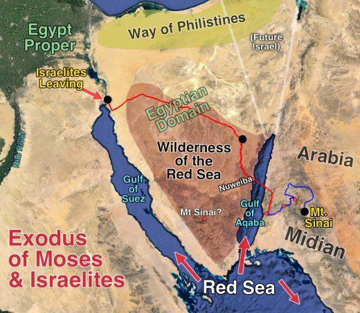 Image result for map showing sinai and red sea