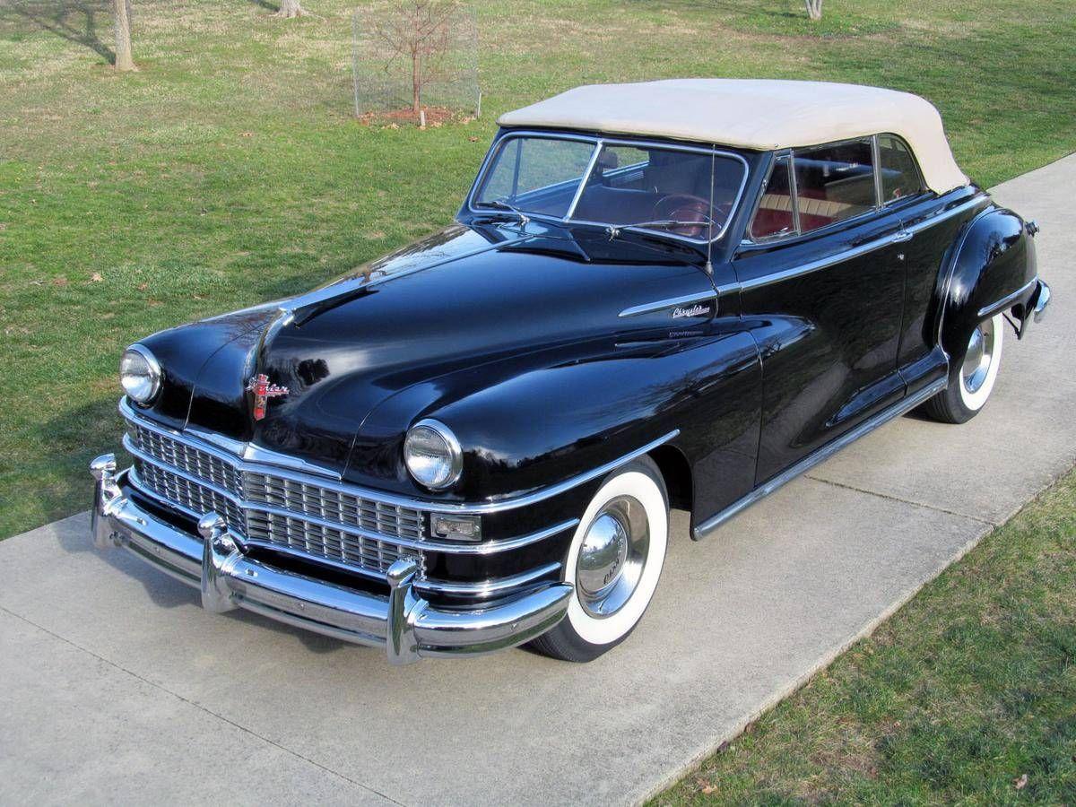 1948 Chrysler Windsor Convertible Chrysler Windsor Chrysler