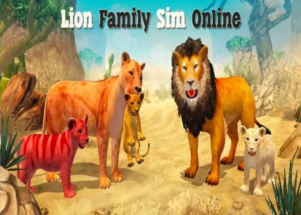 Lion Family Sim Online Vip Mod Download Apk Lion Family Sims Lion