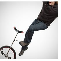 How To Ride A Unicycle Falling Unicycle Riding Pants