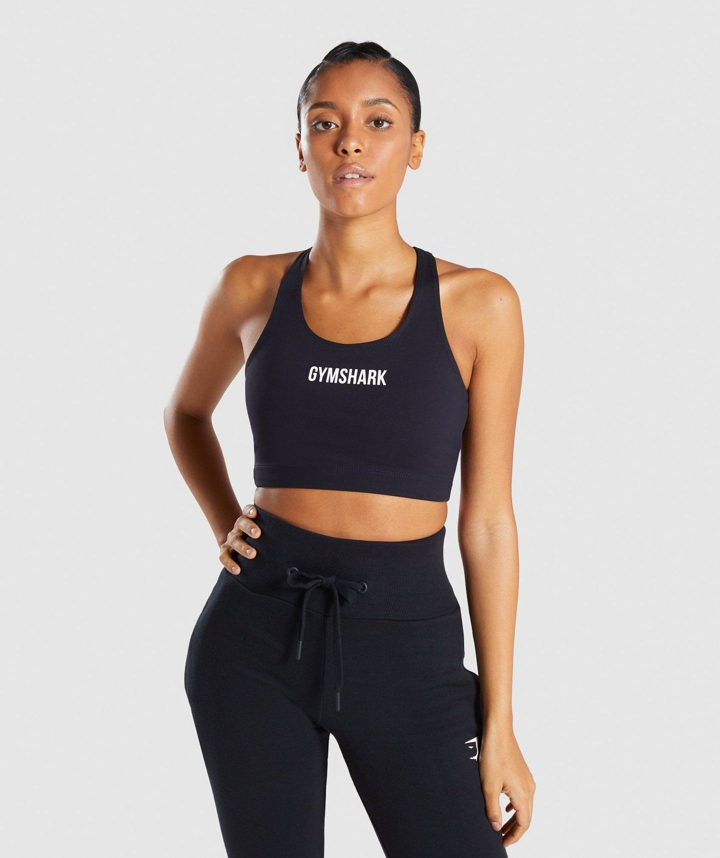 Gymshark Ark Sports Bra Black (With images) Trendy