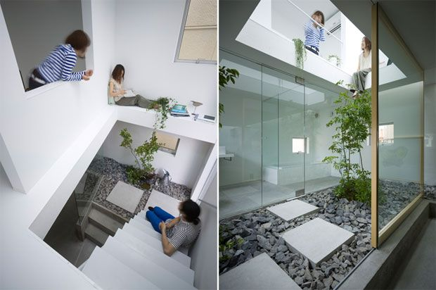 House · Innovative Garden Interior Design House Innovation