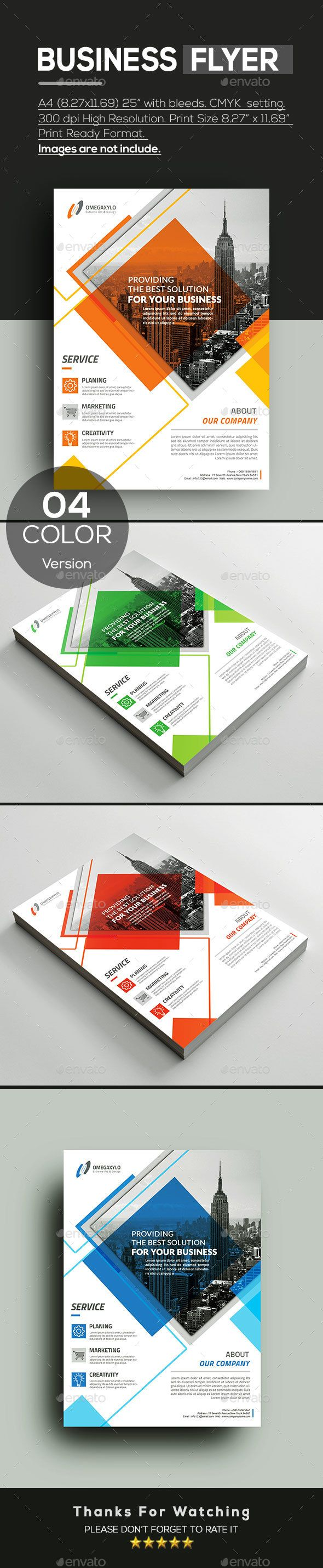 Business Flyer | Business flyers, Business flyer templates and Flyer ...