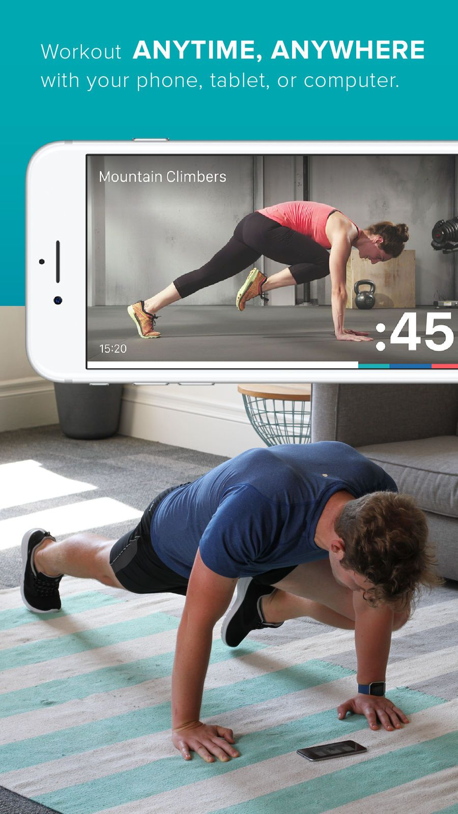 Fitbit Coach SportsFitnessappsios Fitbit, Anytime