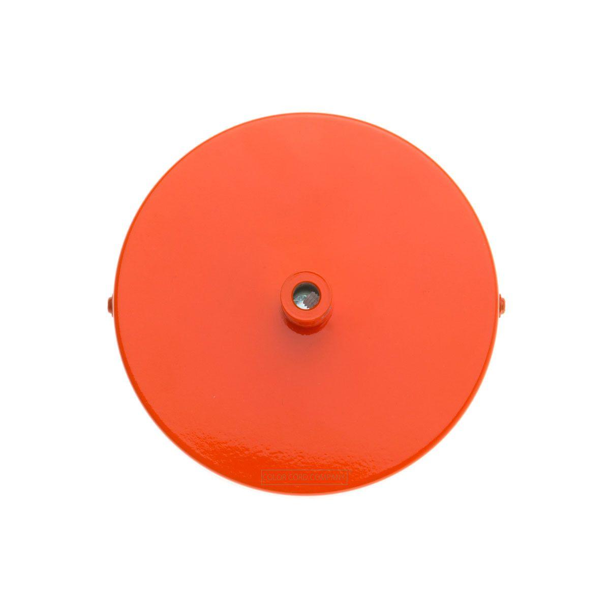 Single Port Ceiling Canopy - Orange