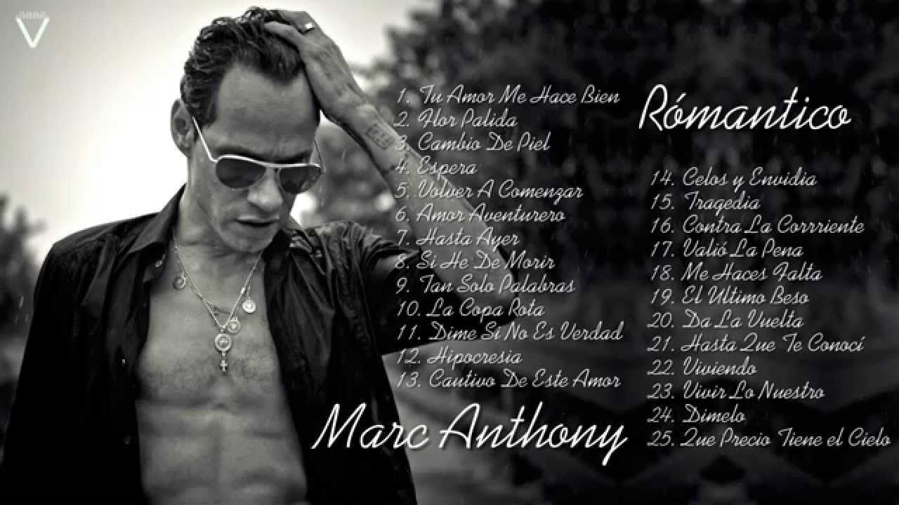 Marc Anthony Mix Románticas 2015 Lo Mas Nuevo Youtube International Music Music Videos