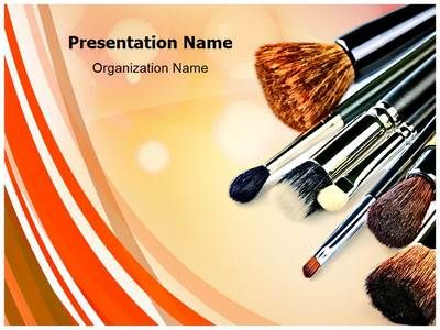 Makeup Powerpoint Template Is One Of The Best Powerpoint