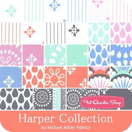 Harper Collection by Michael Miller Fabrics - September 2015
