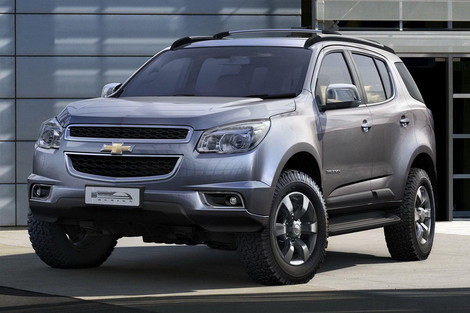 All New 2013 Chevrolet Trailblazer Asian Market Autos