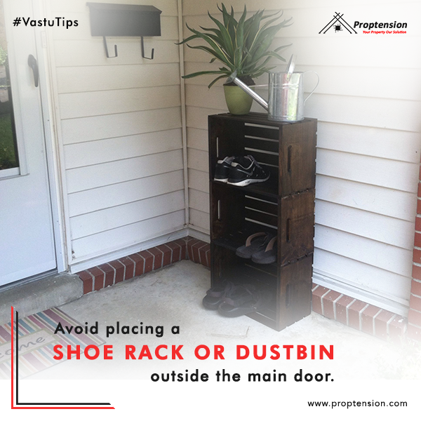 Avoid Placing A Shoe Rack Or Dustbin Outside The Main Door Else The Flow Of Energy Within Your House Outdoor Shoe Storage Front Door Shoe Storage Shoe Storage