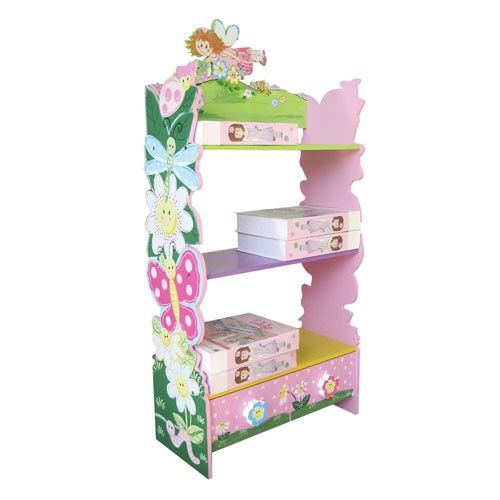 Hand Painted Flower Bookcase - Kids Furniture - All4Kids- Milan Direct