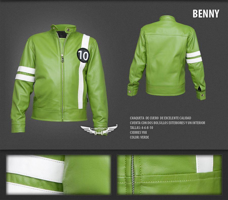 #Chaqueta modelo Benny (Ben 10)