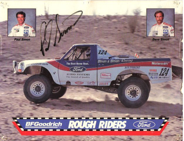 The Ford Rough Riders Off Road Racing Team Off Road Racing